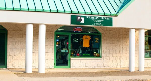 Finish Line Sports, Custom Apparel, Team Gear, Logo Design